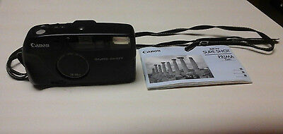 Canon Sure Shot 35Mm Camera Includes Manual/Pictures/Photos