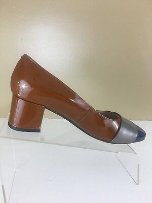 3ffaa0f6f3 Clarks Narrative Womens pumps us size 9 M shoes block heeled Chinaberry sky