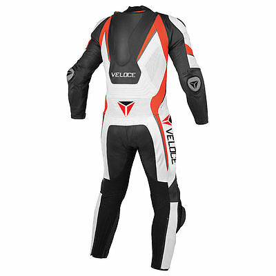 VELOCE Moto B917 Motorbike/Motorcycle Racing Leather Suit -One Piece Suit