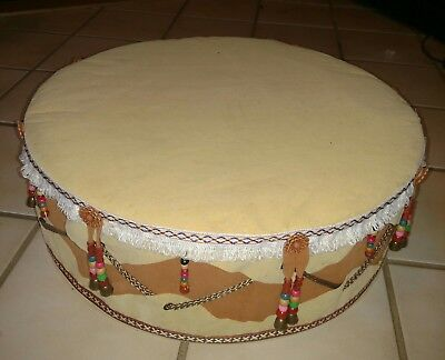 Native American Hand Drum Replica