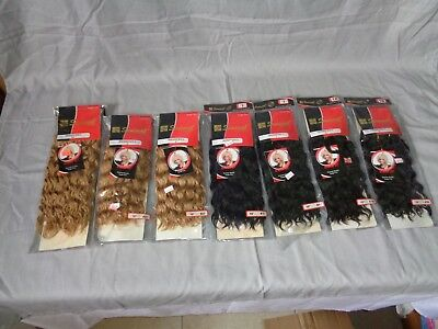 8 PC Lot Renaissance Wave Sensual 100% Human Hair Asst Lengths & Colors / BJ