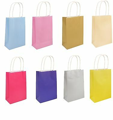 Handle Paper Party  Bag Gift Party Bags Wedding Birthday  Christmas Baby Shower