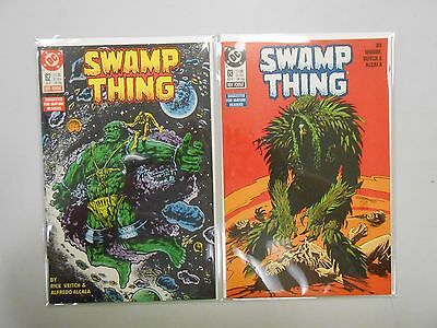 Swamp Thing #62 and 63! (1987, DC)! VF/NM9.0! Copper age DC comic lot of 2!