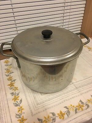 Vintage 12qt Sears Best Maid Of Honor Heavy Weight Aluminum Pot