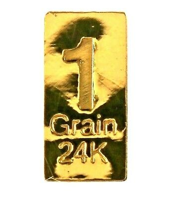 1/15 Gram .9999 Fine 24k Gold Bullion Bar - In Assay Card