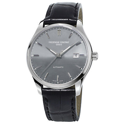 Frédérique Constant Men's FC-303LGS5B6  Automatic Black E-Strap 40mm Watch