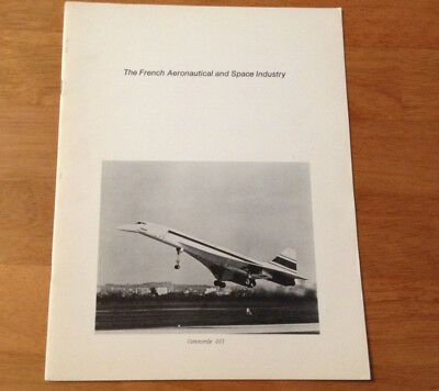 Vintage French Aeronautical & Space Industry Aviation Booklet Limited Edition