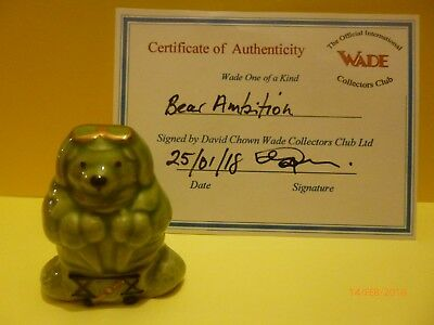 Wade Whimsie One Of A Kind Bear Ambitions Alex The Aviator