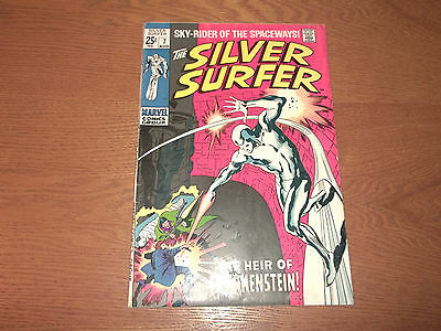 The Silver Surfer  #  7        The Heir Of Frankenstein