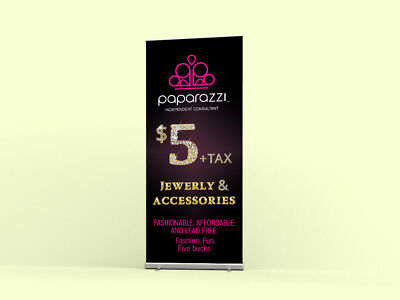 Paparazzi Accessories roll-up Banner -Product display - Vendor Show