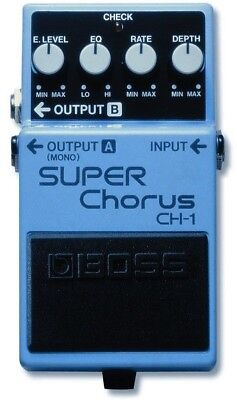 BOSS Effect Pedals - CH-1 Super Chorus