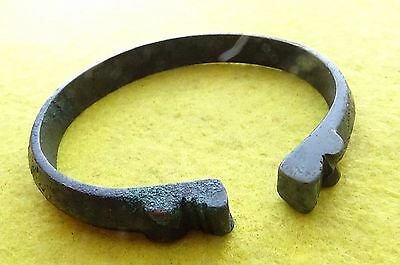 Viking Bronze Decorative Bracelet Dragon Head