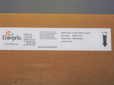 New Entegris Model number: Filter, 400B,23.313x23.31 Part Number ESI004797-09
