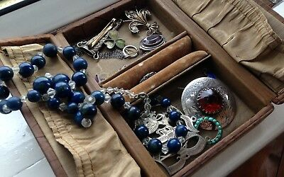 Good Job Lot of Vintage & Antique Jewellery - Including Silver & Costume