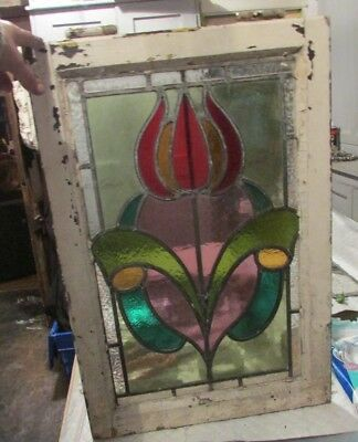 Lovely Old piece of stained glass