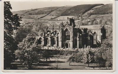Scotland - Melrose Abbey From S. E. - Postcard #