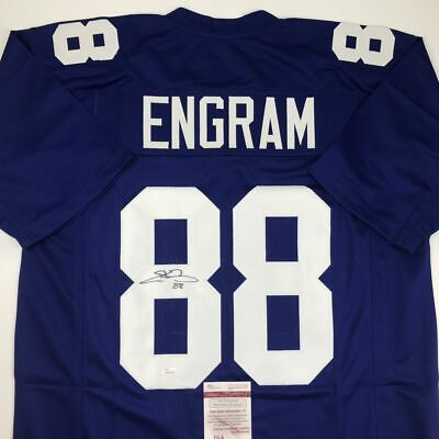 new concept 40356 02525 AUTOGRAPHED/SIGNED EVAN ENGRAM New York Color Rush Football ...