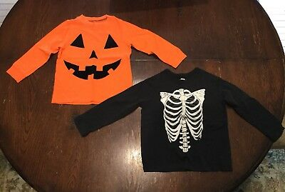 Set of 2 Halloween Spooky Toddler T-Shirts, 3T