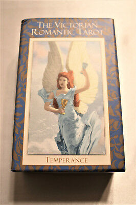 The Victorian Romantic Tarot Baba Studio 2nd Edition Gilded Edges OOP Card Deck