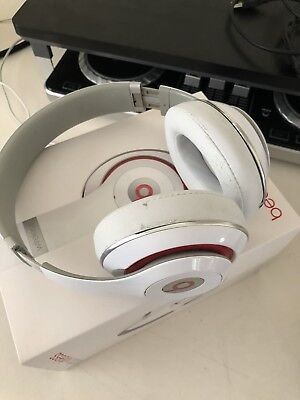 Beats by Dr. Dre Studio Wireless White Over the Head Wireless Headphones