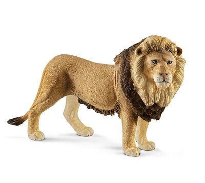 Schleich 14812 Male Lion Wild Animal Model Toy Figurine 2018 - NIP