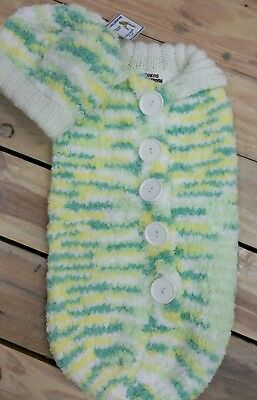 Baby Cacoon And Beanie Set. Super Soft, 0-3 months,  Knitted with Love