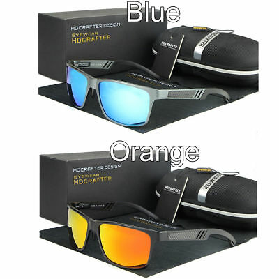 c314dc95b3 Men s Aluminium Polarized Colored Hd Sunglasses Driving Outdoor Fishing Eye