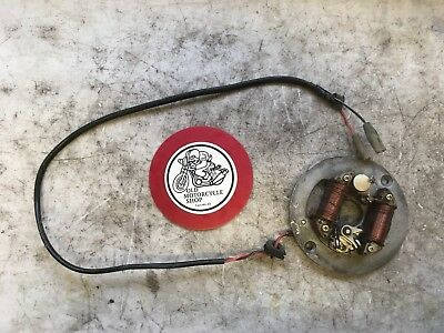1979 Yamaha Mx100 Stator And Ignition Points Unit Oem