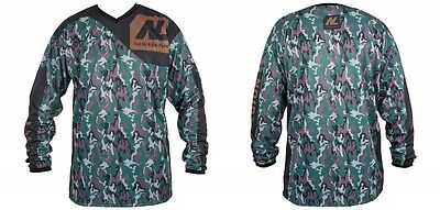 New Legion ultimate Pro Paintball Jersey - woodland, Gr. M/L, Paintball,
