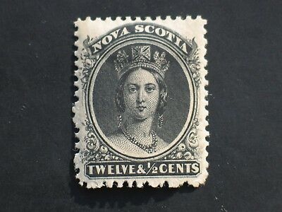 NOVA SCOTIA 1860-1863  Stamp SG #17a Hinged