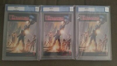 Marvel The Ultimates #1 CGC 9.8 NM/MT WHITE PAGES Avengers