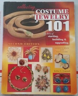 Collecting Costume Jewelry 101 Value Guide Collector's Book 348 pg