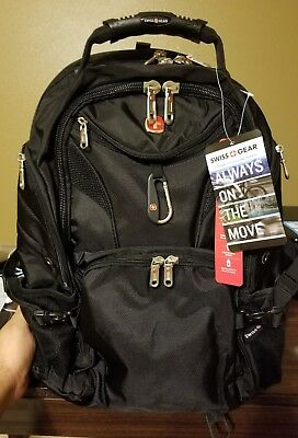 0bbe2f845d SWISSGEAR TRAVEL GEAR 5977 Laptop Backpack- EXCLUSIVE  Color  Black ...
