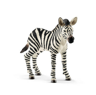 Schleich 14811 Zebra Foal Wild Animal Model Mare Toy Figurine 2018 - NIP
