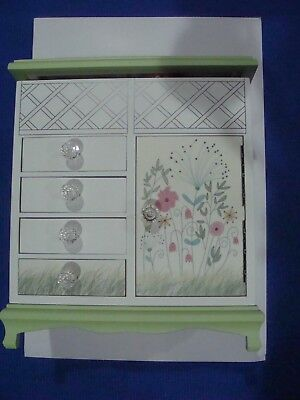 Lenox Floral Wooden Jewelry Box