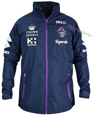 Melbourne Storm 2018 NRL Wet Weather Jacket Sizes S-5XL BNWT