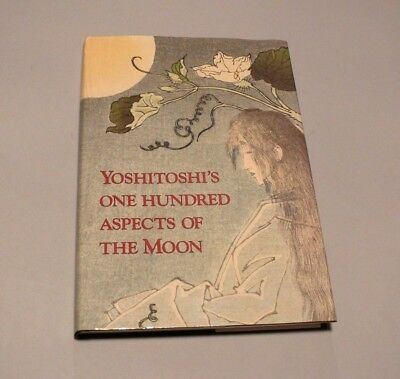 YOSHITOSHI'S ONE HUNDRED ASPECTS OF THE MOON FINE Japanese Woodblock Print Book