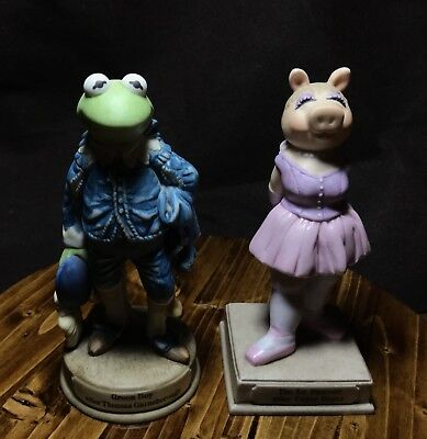 "Kermitage Collection - Miss Piggy's ""GREEN BOY"" AND ""THE LA DANSEUR"" - The Set"
