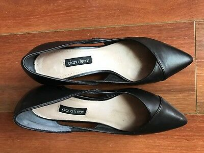 Diana Ferrari Lady' s Office Shoes In Great Condition