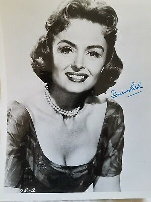 "It's A Wonderful Life star Donna Reed signed 8""x10"" photo from her TV show"