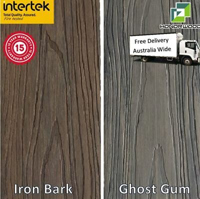 Plastic Decking. Ghost Gum/Iron Bark- Free Delivery.$12.70. Similar to Modwood