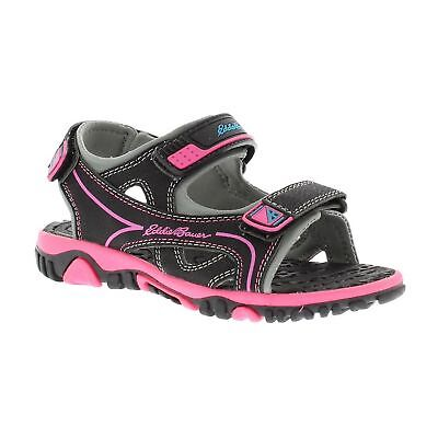 KELSEY PINK//GREY ASSORTED SIZES  NEW EDDIE BAUER GIRL/' S RIVER SANDAL MODEL
