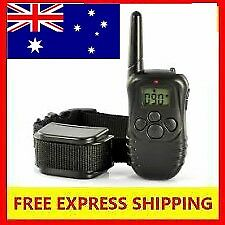 3 In 1 Dog Remote Training Anti Bark Stop Barking Collar Obedience Distance