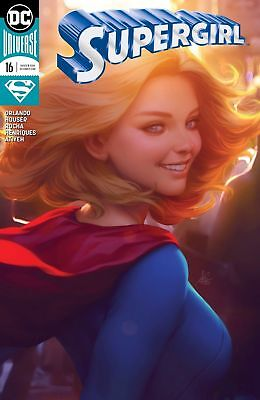 SUPERGIRL #16 NM Variant Stanley Artgerm Lau DC Rebirth BOXED SHIPPING