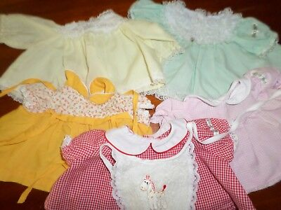 Cabbage Patch Kids - 5 Dresses and a Bib