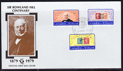 St Vincent 1979 Rowland Hill  First Day Cover #2