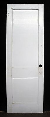"28""x82 Antique Vintage Arts Crafts SOLID Wood Wooden Interior Pantry Closet Door"