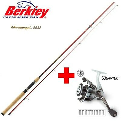 Berkley Cherrywood HD 2,40m + Quantum FD 840
