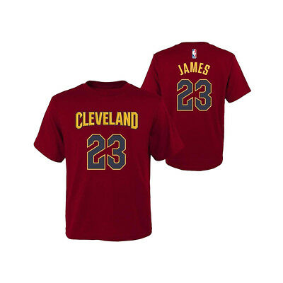 Toddler LeBron James Cleveland Cavaliers Outerstuff NBA Player T-Shirt - Burgund