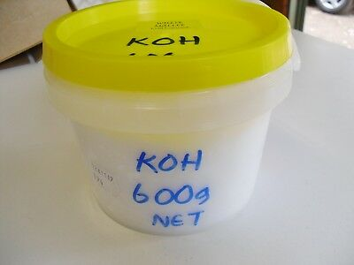 KOH Potassium hydroxide 600g for Liquid Soap making